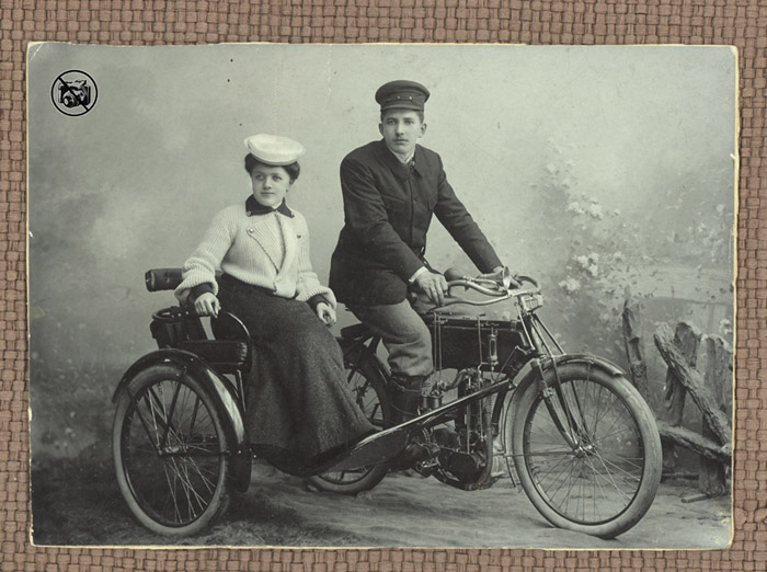 Motorrad Puch 1904, Motorcycle Puch 1904, motocycle Puch 1904