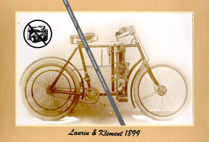 Laurin klement 1899, motocycletta Laurin Klement, motocycles Laurin Klement, alte Motorrad, staré motocykly